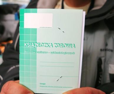 książeczka sanepidowska,książeczka pracownika,książeczka sanitarno-epidemiologiczna, badania do książeczki sanepidu łódź, lekarz orzecznik łódź