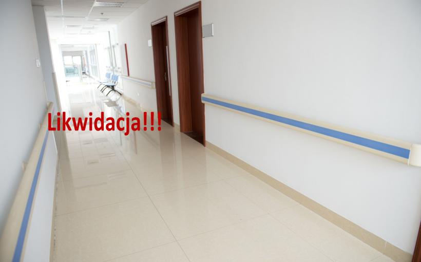 likwidacja szpitali w Polsce
